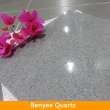 Grey quartz stone sparkle quartz flooring tile