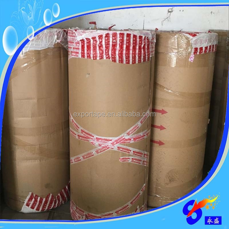 New hot products custom print opp tape jumbo roll adhesive tape roll
