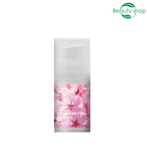 Sakura skin whitening BB cream for pigmentation
