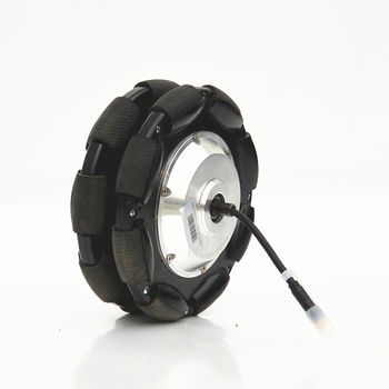 8 inch 24v 250w electric geared wheel motor for wheelchair