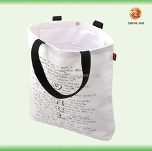 high quality customized eco natural canvas tote bags with pockets insideag