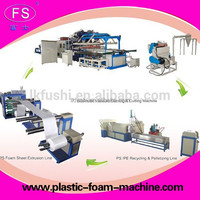 disposible foam dishes making machine/disposable plastic food container machine