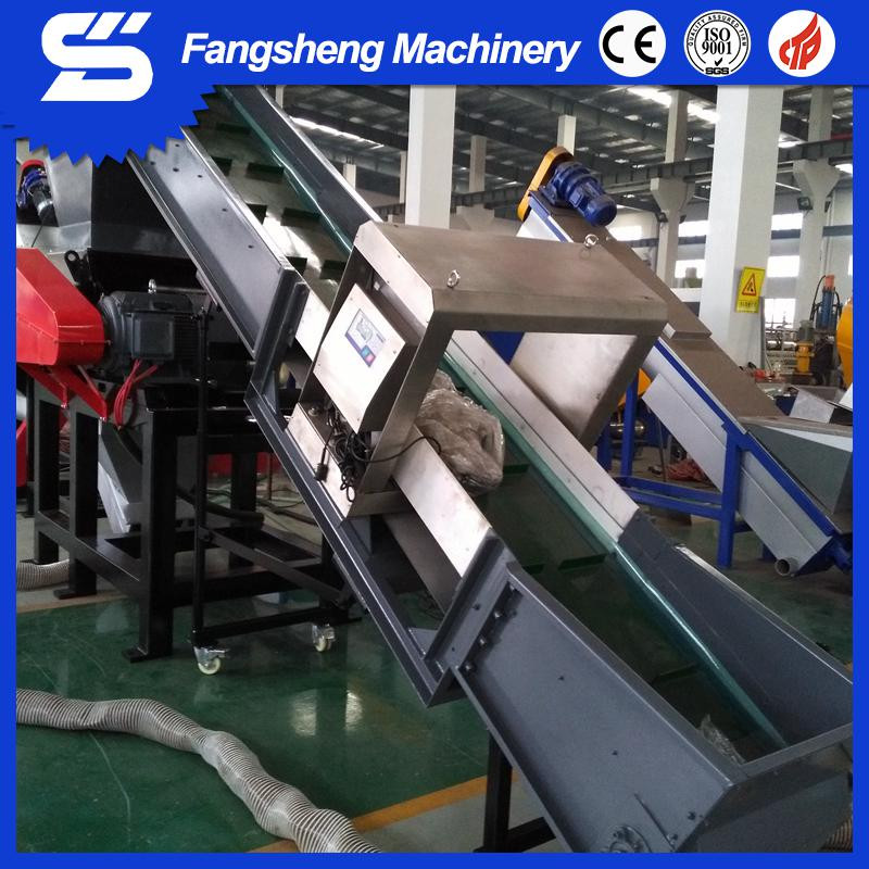 500-1000kg/h pp pe film washing crushing drying machine/waste plastic recycling line