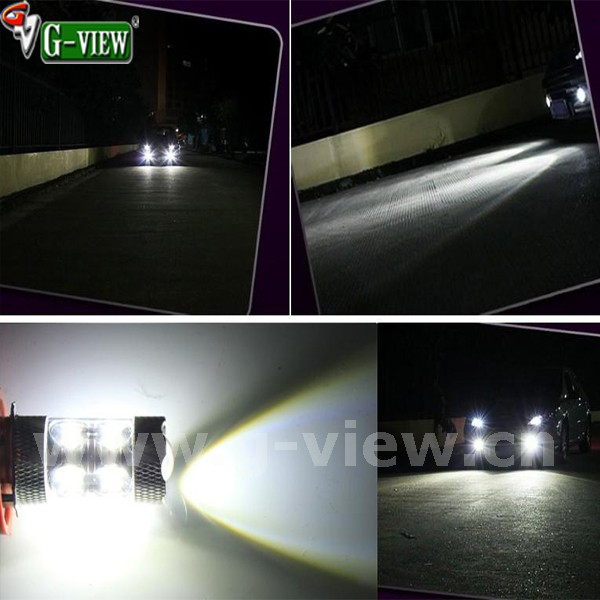car accessories h8 h11 9005 9006 80w car led daytime running fog light