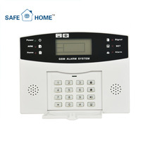Factory Offer 868 3G Personal Elderly Wireless Home GSM Alarm,Intelligent App GSM Alarm