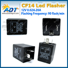 CF14 Electronic Flasher Relay Fix LED SMD Fast Indicator Blinker Decoder
