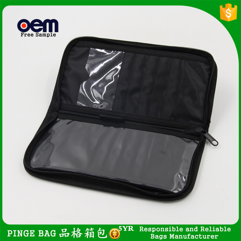 Wholesale Cheap Ladies Clear PVC Card Holder Cosmetic Bag Bulk Brand Mini Korean Cosmetic Bag Luxury Makeup Bag With Zipper