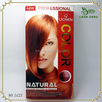 China OEM factory design hair dye color drearon nigao hair color