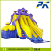 Professional inflatable factory customized giant inflatable bouncy castle with water slide inflatable combo
