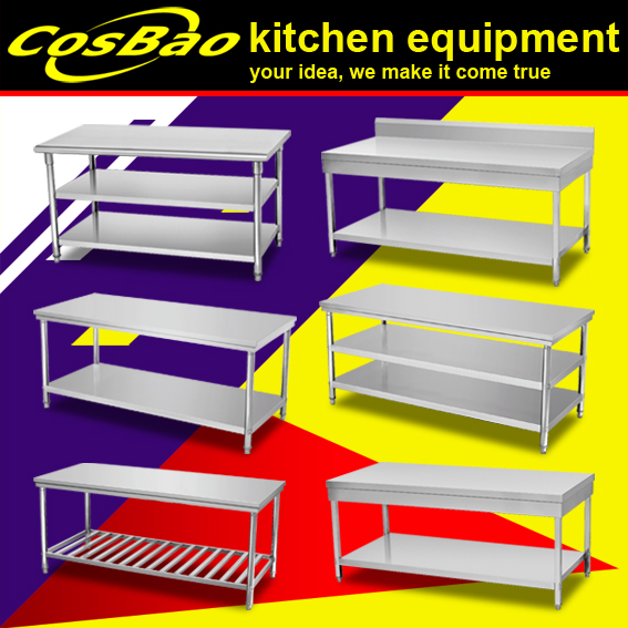 Kitchen equipment Stainless Steel Work Table/Kitchen Table BN-W13