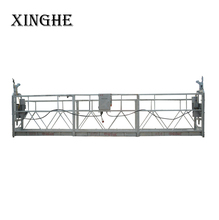 Window glass cleaning cradle system , zlp series suspended rope platform , sky lifting climber gondola
