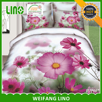 100% polyester 3d duvet covers for beautiful homes with famous company names