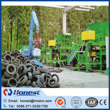 Professional car tire recycling machine