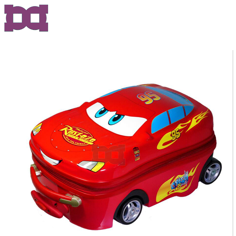 Fashion car shaped kids children trolley cars luggage bag