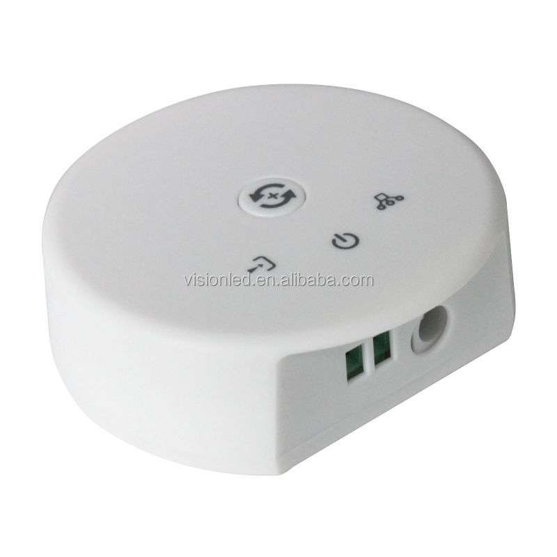 CE rohs 12-24V music controlled led rgbw & rgb controller wifi, smart size!!!