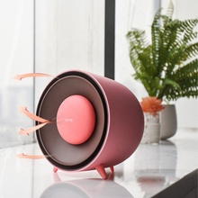 2018 new design Fashion Mini Fan <strong>Heater</strong> remote handy space ptc air portable room mini fan electric <strong>heater</strong>