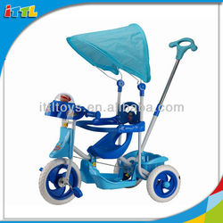 A69579 hot selling baby kids tricycle, children tricycle with umbrella