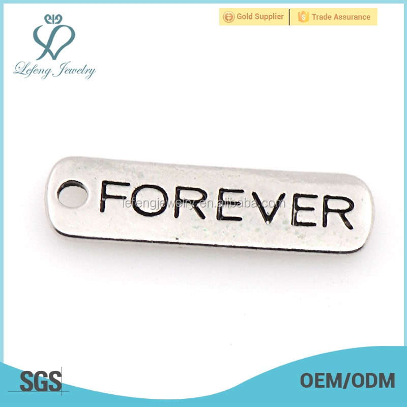 Custom printed charms, forever letter charms, different designs of alphabets