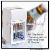 20L Mini bar refrigerators/counter top fridge with CE certification