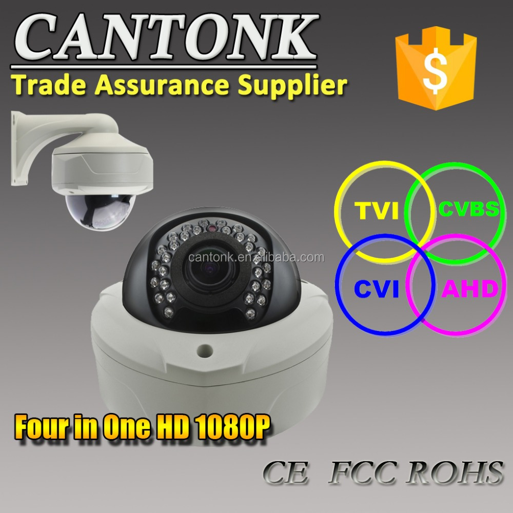 New type 1080P vandal-proof AHD CVI TVI CVBS 4 in 1 CCTV dome camera with OEM ODM service