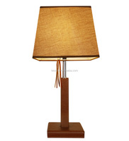 Luxury europe style hotel table lamp for bedside decoration