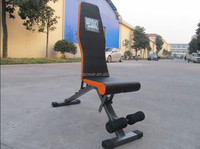 2015 training machine equipment WUYI Enpower Fitness New Adjustable reverse sit up bench