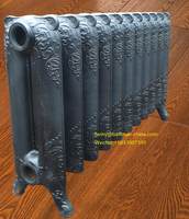 decorative antique cast iron heat radiators with valves from China factory