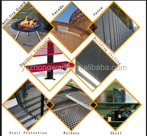 heavry duty expand wire mesh / diamond metal mesh/Expanded Metal Mesh