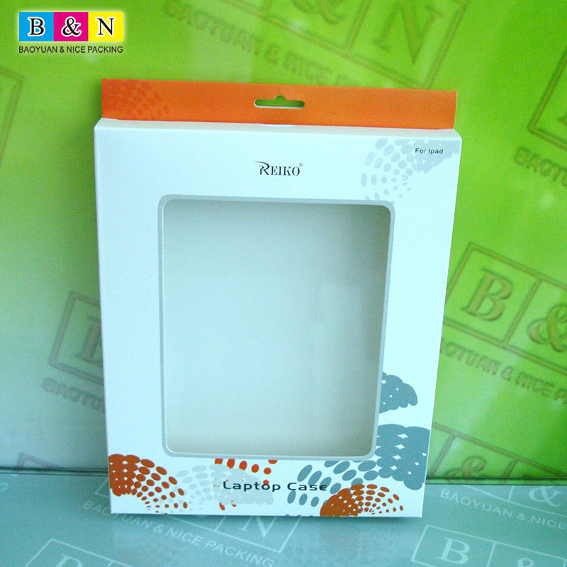 The New Ipad Case Paper Packaging With 400g White Board +UV Logo