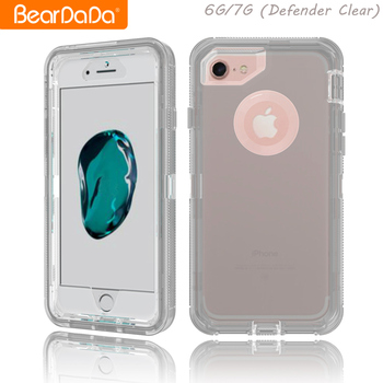 Popular Item tpu pc for iphone 7 case transparent clear shockproof