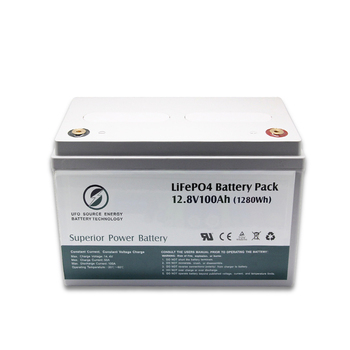 Solar Street Light Power Pack 12V 12.8V 100AH LiFePO4 Battery for Lead-acid Replacement