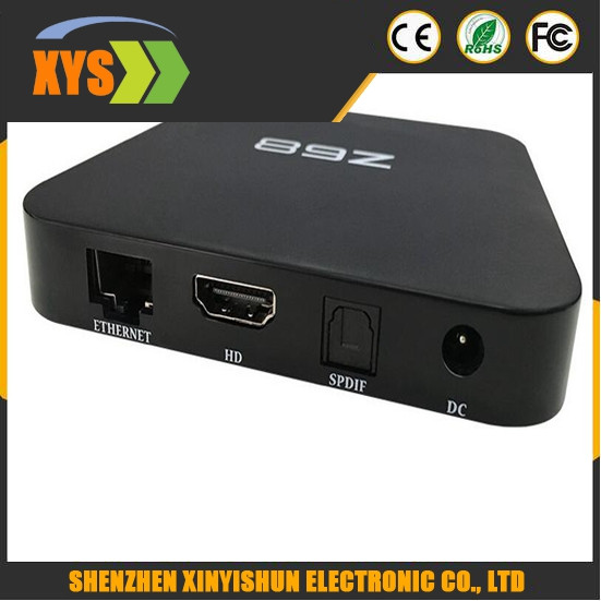 Z68 TV boxes 2.4G/5G double wifi RK 3368 Android 5.1 2.0 support bluetooth 4.0 set-top box smart player+remote control