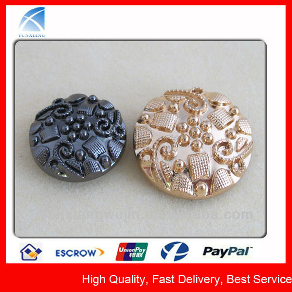 Elegant Metal Buttons for Wedding Dress