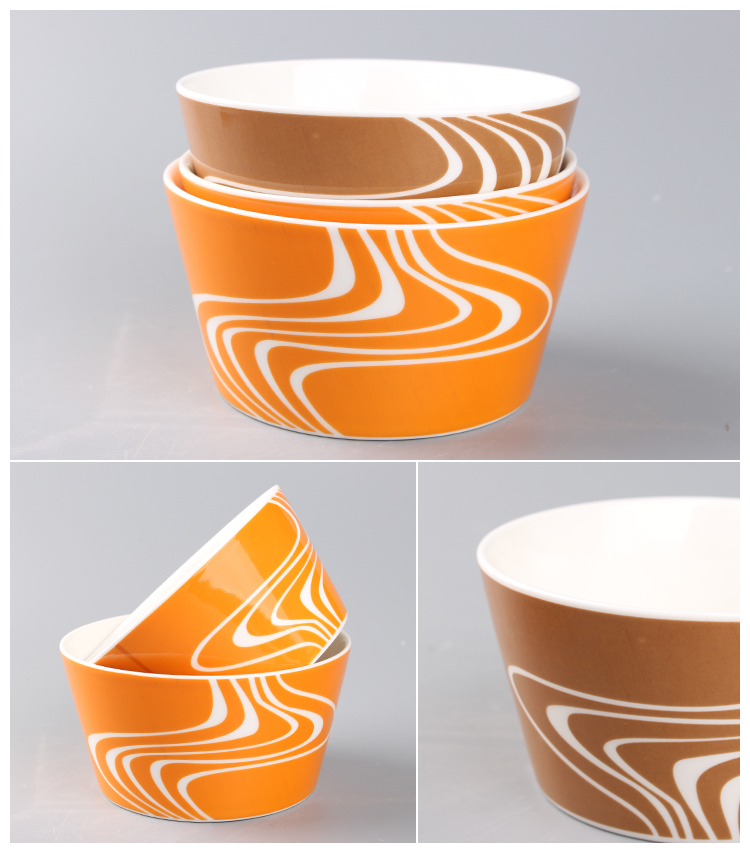 ceramic fruit bowl/ceramic rice bowl/ceramic noodle mixing bowl