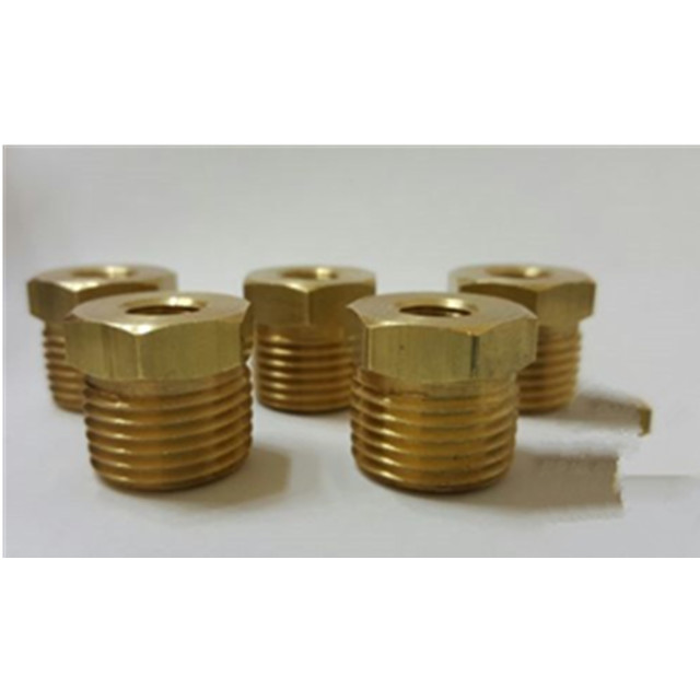 3/4&quot; Male NPT <strong>x</strong> <strong>1</strong>/8&quot; Female NPT Brass Pipe Hex Bushing Reducer Fitting