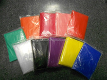 PE Emergency poncho with logo cheap poncho disposable PE poncho