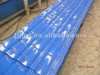 color stone chip coated metal roof tile