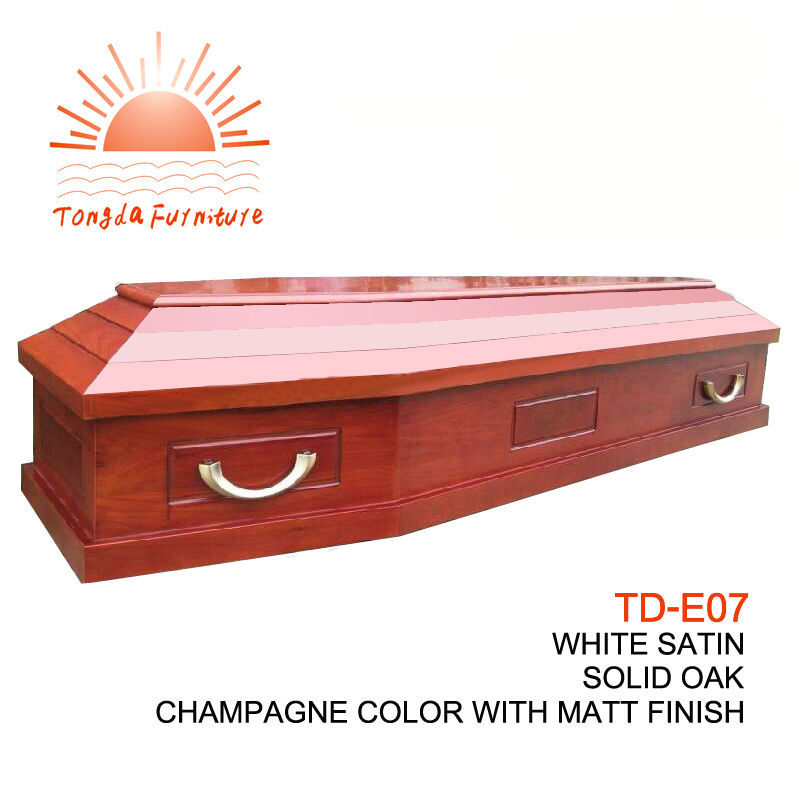 TD--E07 BABYCONE US Style Cheap Wood Veneer Infant Casket For Loved Baby
