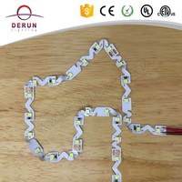 High quality S type led strip bendable 2835 led strip with CE ROHS