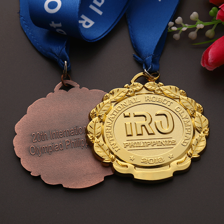 China manufacturer custom zinc alloy 3D running sports award medals for Philippines