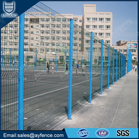 Hot Sale Powder Coated Galvanized Security Fence for Sports Facilities