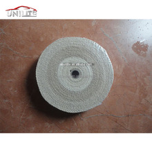 EXHAUST FIBRE GLASS HEAT WRAP PROTECTION TAPE WIDTH 2'' LENGTH50' THICKNESS 2MM - BEIGE
