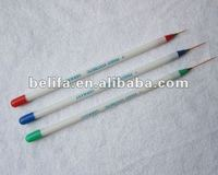Plastic handle nail art brush china china manufacturer made in china 2013 new products cosmetic