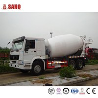 Small Concrete Mixer Truck from China