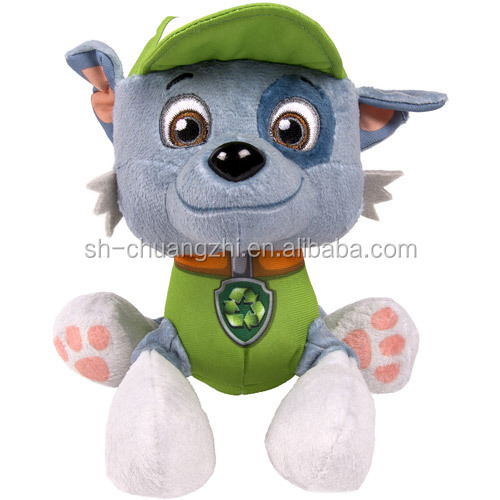 Plush toys for crane machine animal stuffed toys plush Hat Wolf wholesale manufactory anime animal dolls