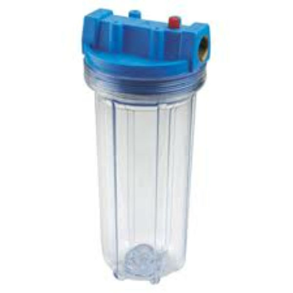 10 inch clear water filter housing / 10 inch water filter casing