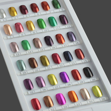UV gel nail polish Liquid Colour Gel Metallic Chrome Tree nail polishes