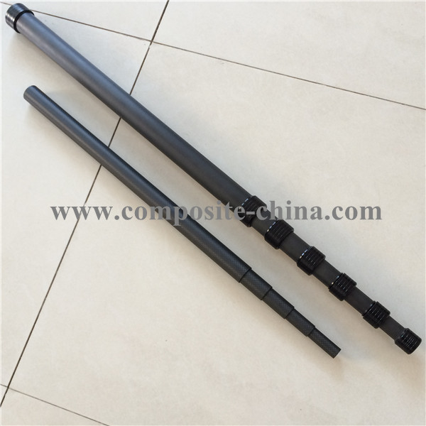 Carbon fiber microphone pole,Customized Microphone Boom Pole