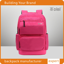 Big capacity mountain leisure backpack for two laptop