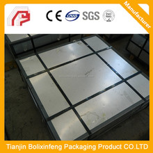 Second electrical tin free steel sheet